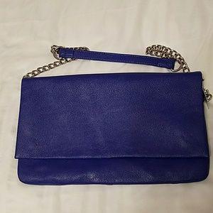Express cobalt blue purse